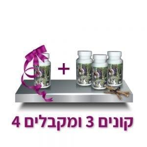 ליקוריץ המקורי- מארז לשלושה חודשים ובקבוק נוסף במתנה